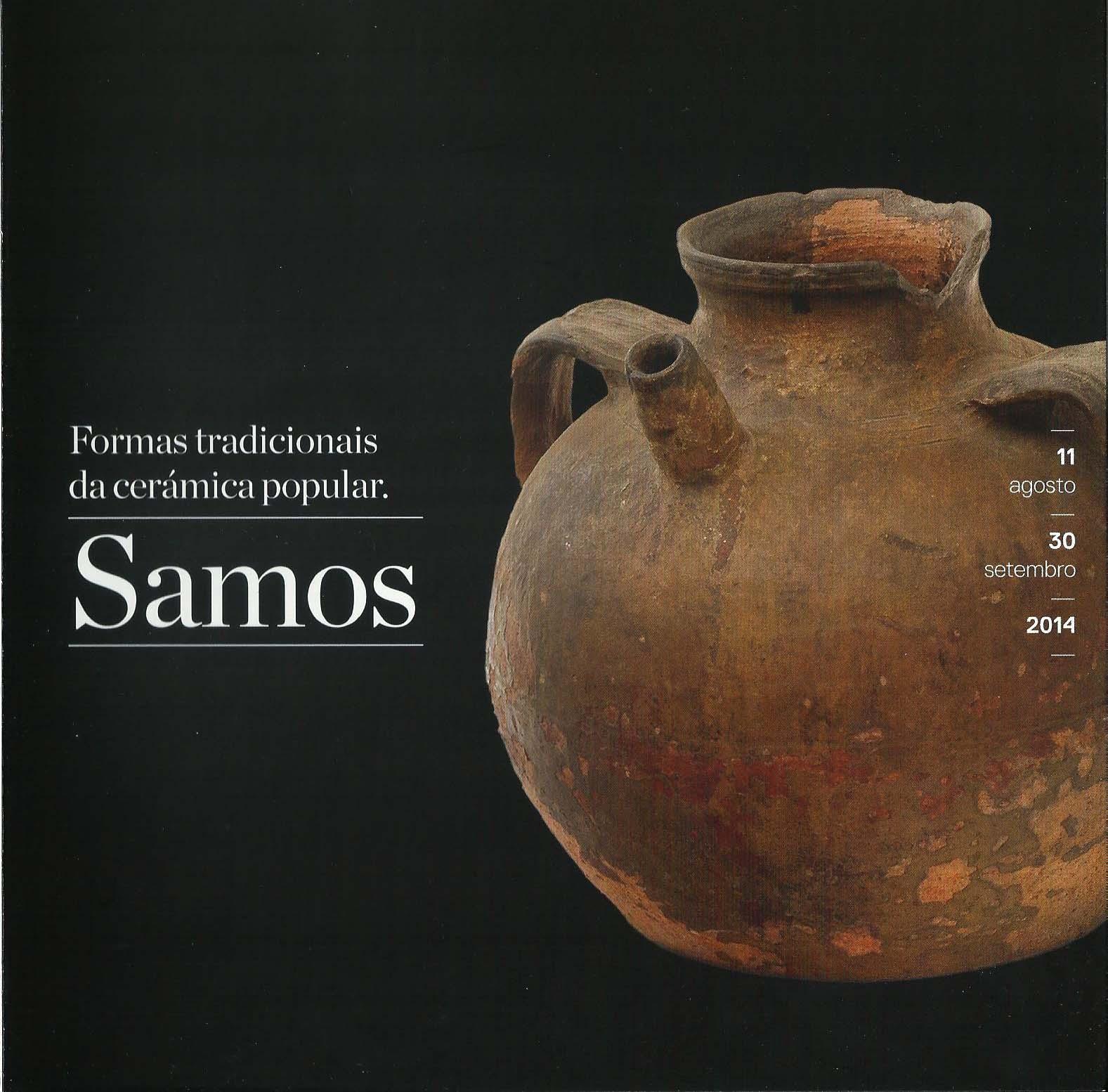 Formas tradicionais da cerámica popular: Samos